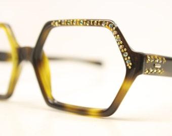 Unused Eye Glasses Tortoise vintage frames NOS