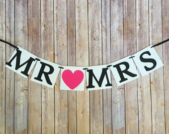 mr and mrs banner, wedding mr and mrs banner, custom wedding banners, wedding sign
