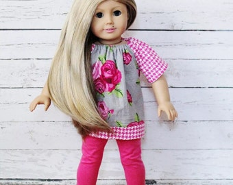 Custom OOAK American Girl Doll Blonde Hair Blue Eyes- Sienna