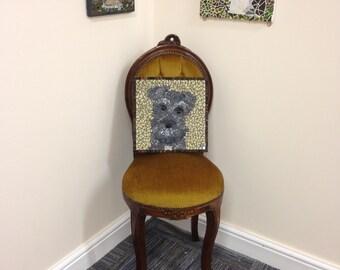 Bespoke Mosaic - Pet portrait, House portrait