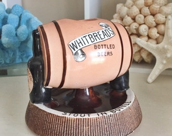 Antique English Whitbreads Beer Match Striker
