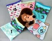 Small animal bag, hedgehog bag, fleece hedgehog sack, pet sleeping bag, rat, gerbil, sugar glider, gerbil bag, bonding bag