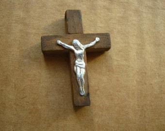 Vintage simple wooden crossfix Body Cross