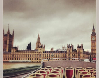 View of Parliament in London Photograph