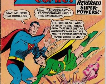 1961 Superman Man of Steel Action Comics 10 Cents