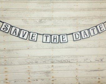 Save The Date Banner - Engagement Decorations