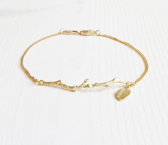 Branch & Leaf Bracelet