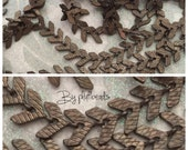 chain chevron SOLID brass aged rusic patina petite 6.5mm High Quality solid brass CHEVRON chain