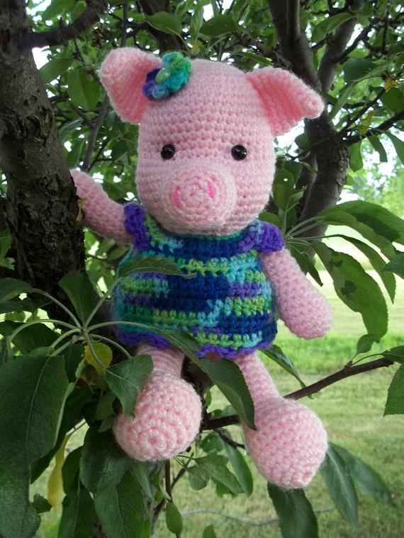 Amigurumi Crochet Pig Crochet Farm Animal Crochet Pig