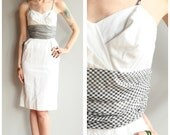 1950s Dress // Lou Ette Gingham Dress // vintage 50s dress