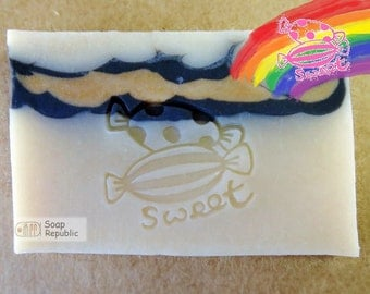 Sweet Candy / Acrylic Soap Stamp ( Soap Republic )