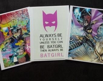 Batgirl Card Trio