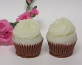 mini cupcake soaps glycerin soap mini guest size set of 2