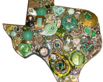 Green & Tan Texas