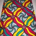 Vibrant Multicolor Fabric, African fabric 6 yards, African Maxi skirt fabric, African clothing, African quality Prints