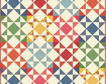 Bread 'n Butter - Jelly Jar Quilt Pattern by Sandy Klop for American Jane