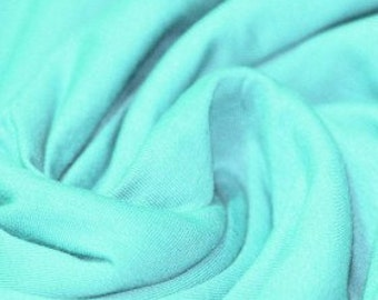Mint solid jersey knit 94/6