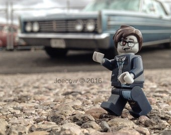 """Lego Photography Theodore """"Ted"""" Zombie Classic Car Belvedere"""