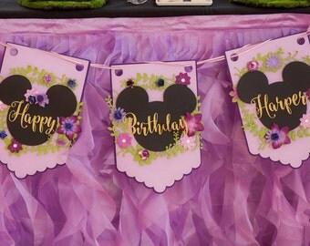 Birthday Banner - Large Pennants