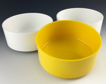 Vignelli for Heller soup/salad bowls, set of 3