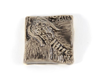 Moth Tile - 2 inches