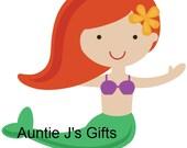 "CROCHET GRAPH PATTERN, sweet mermaid for afghan, 40""x40"""