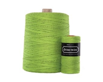NEW**Solid Green Divine Twine X