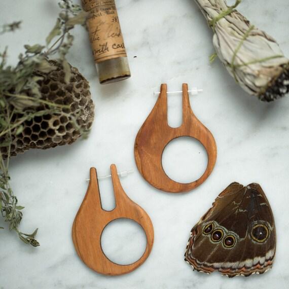Karma Wooden Earrings