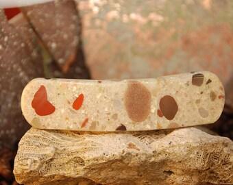 Pudding Stone Barrette