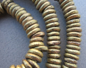 African Brass Ring Beads
