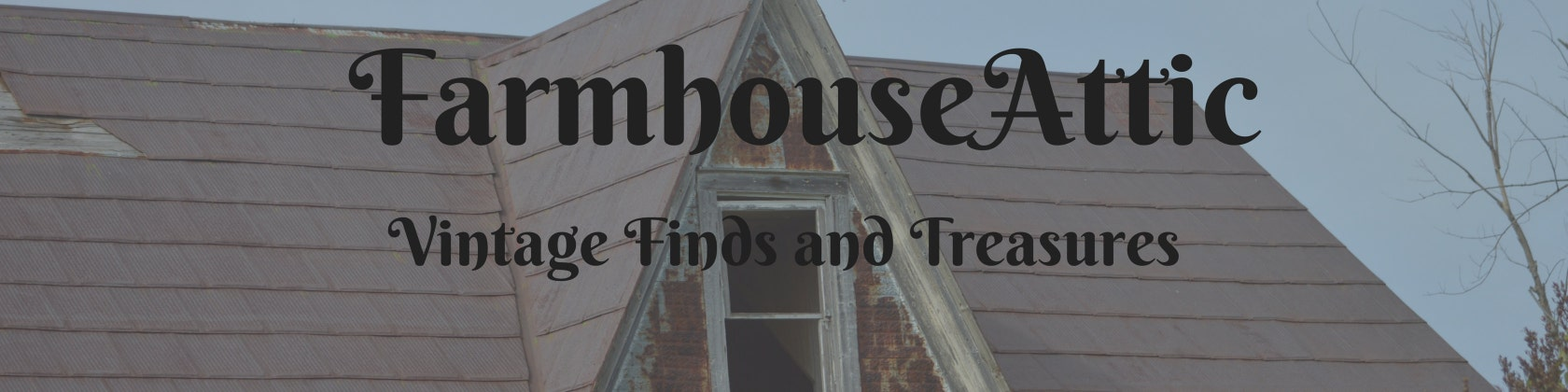 Vintage Finds And Treasures From The By Farmhouseattic On Etsy