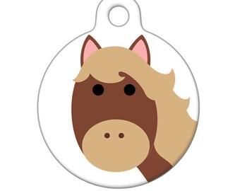 Pet ID Tag - Horse ID Tag Pet Tag, Dog Tag, Cat Tag, Luggage Tag, Child ID Tag