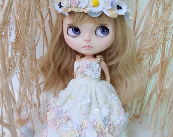 Blythe Long Flowers Dress