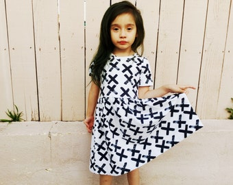 Girl's Dress - Everyday Play Dress - Girl's Clothing - Organic Knit Dress