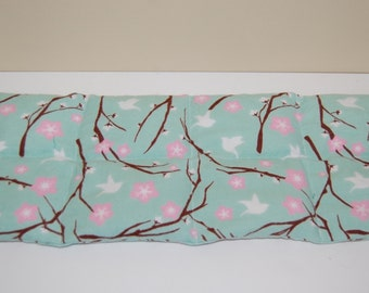 Rice Heating Pad, Medium, Cherry Blossom and Doves