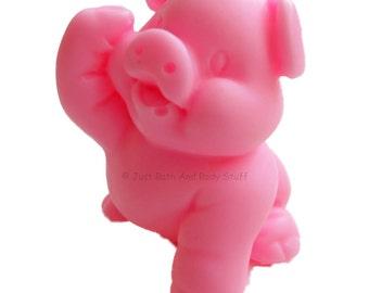 Pig Soap, Piggy Soap, Guest Soap, 3D Soap, Pig Shaped Soap, Novelty Soap, You pick scent & color