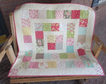 Homemade - Strawberry Fields Baby Quilt