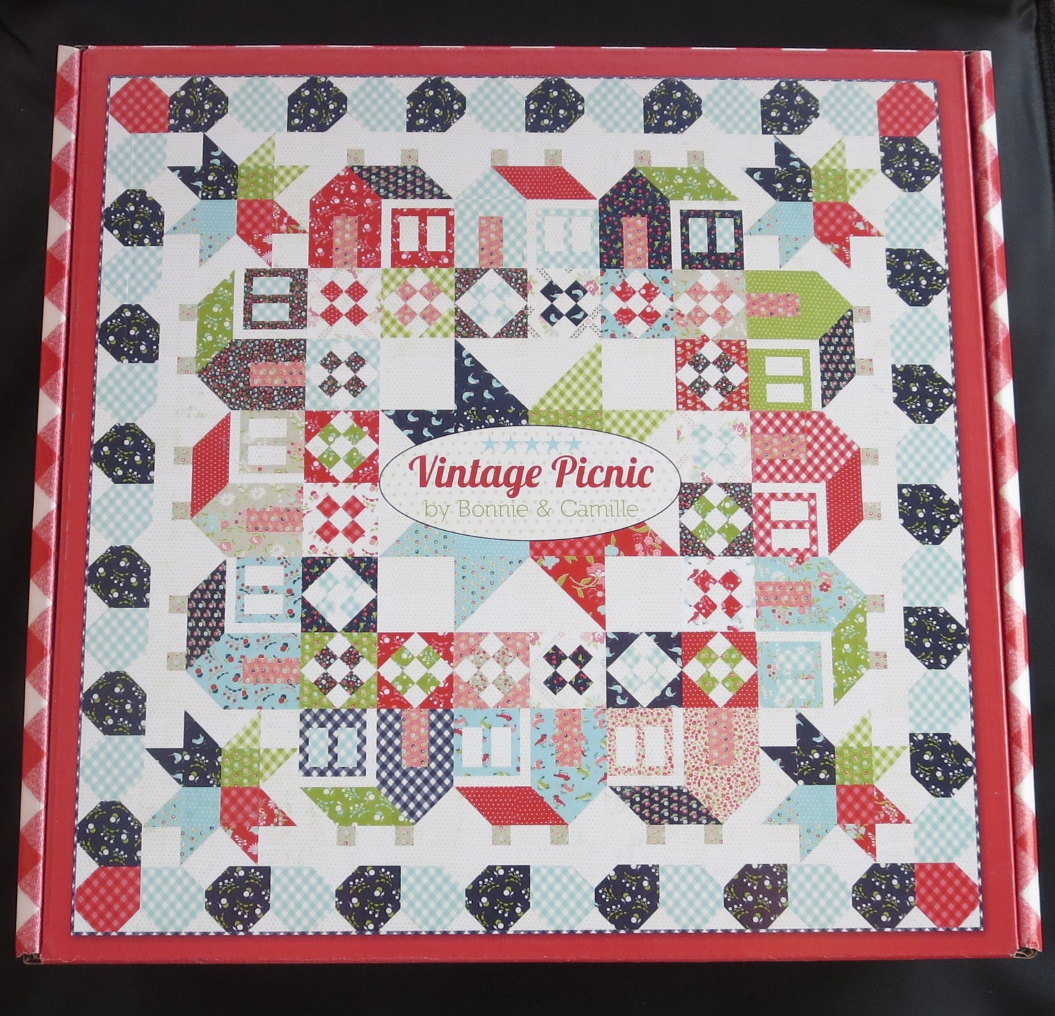 Summerville Quilt Kit 192 By Camille Roskelley For