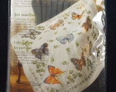 Bucilla Lap Quilt Butterfly collection cross stitch kit sealed