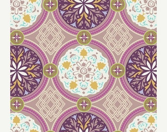 SALE - Medallion in Iron BA-302 - BAZAAR Style - Patricia Bravo for Art Gallery Fabrics - By the Yard