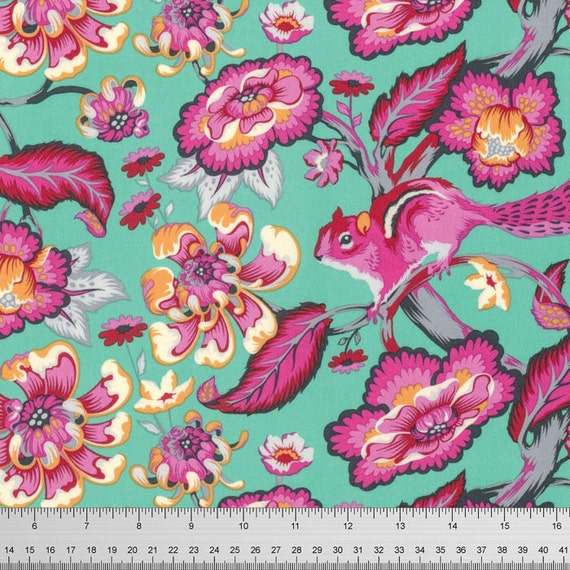 Chipmunk in Sorbet - CHIPPER by Tula Pink for Free Spirit Fabrics - By the Yard