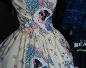 Custom made to order dress for Heidi