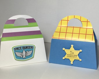 TOY STORY Birthday Party Favor Gift Box - Woody Design