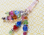 Over the Rainbow Crystal Cell Phone/Tablet Charm