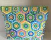 Granny Hexagon - Large Zippy Poor Girl Project Bag