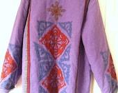 Vintage Sacred Threads cotton appliqued Quilted Jacket