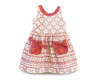 Peek-a-boo Dress, Peek-a-boo Summer Party Dress, Girls Summer Dress, Birthday Gift, Girls Dress, Girls Birthay Dress