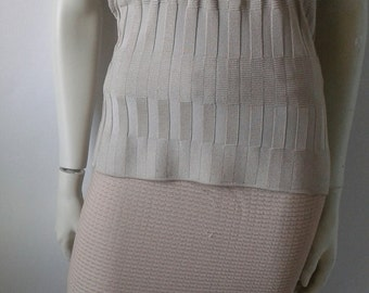 Special Spring Offer -    CHRISTIAN LACROIX     Top and skirt knitted