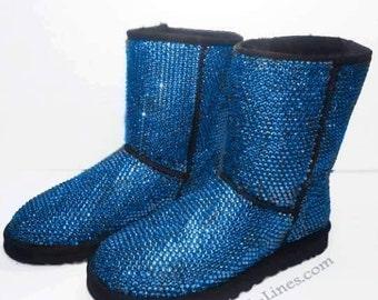 Custom Classic Tall Ugg Boots, Ugg Boots, Ugg, Custom Ugg Boots, Swarovski Ugg Boots, Bedazzled Ugg Boots, Strauss Ugg Boots, Crystal Uggs