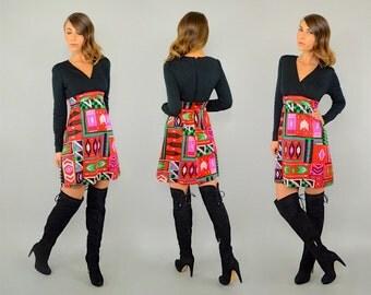 60's Southwestern MOD Mini Dress